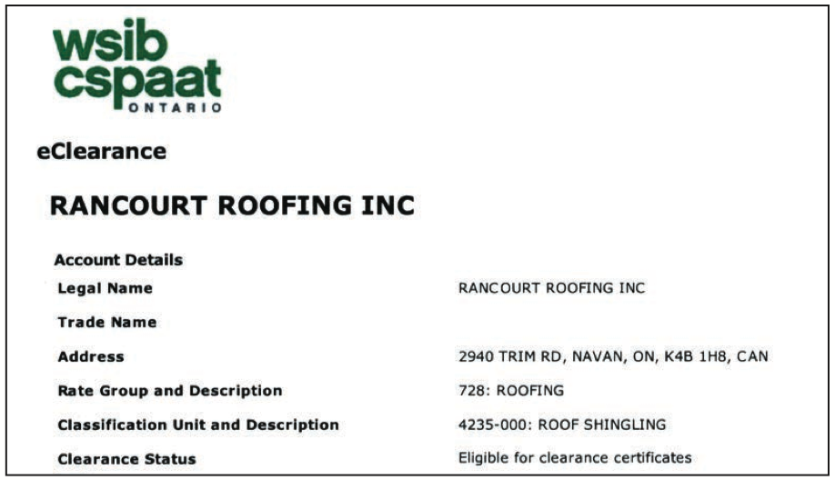 Rancourt Roofing Inc Why Choose Rancourt Roofing